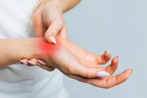 pain in the wrist, Osteoarthritis
